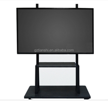 Good quality led tv stand suitable for 100 inch/ 120 inch /200 inch big size lcd tv stand with wheel