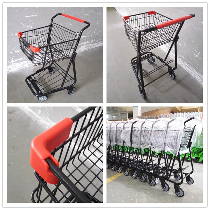 Canada Style Shopping Cart with Single Basket