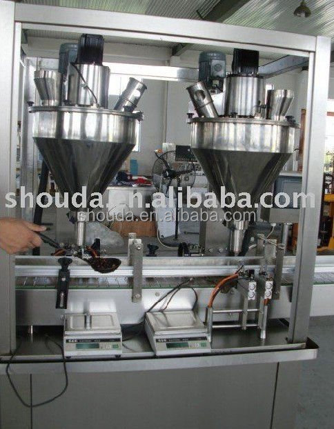 Full automatic dry coffee powder filling machine
