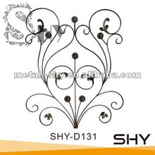 Used wrought iron window ornament