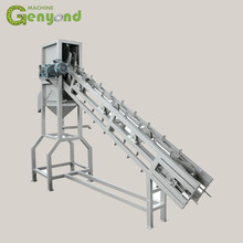 GYC 500L coconut half cutting water extracting packing plant machine
