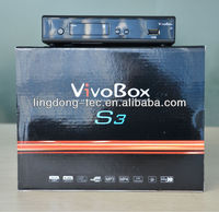 original vivobox s3 sks receiver nagra 3 decodificador smart tv box like az america s930a hd 1080p