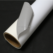 Grey Glue Self Adhesive Vinyl Film/Self Adhesive Sticky Back Gloss White Sign Vinyl 5m x 61cm Roll