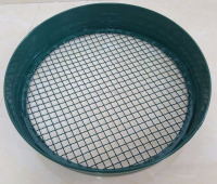 New Garden Round Metal Riddle Metal Sieve Wire Mesh Filter