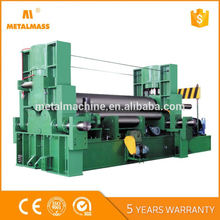 W11S-8x2000 automatic hydraulic power sheet plate spiral rolling machines