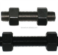 M30 stud bolt and nut