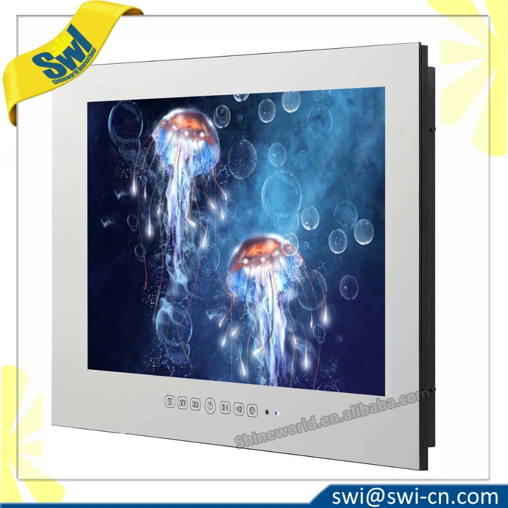 "22"" Hotel Bathroom Mirror <strong>TV</strong> IP66 Waterproof Smart <strong>TV</strong>"