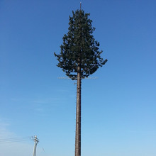 telecom bts cdma antenna gsm artificial plant galvanized pine tree steel tower made in China
