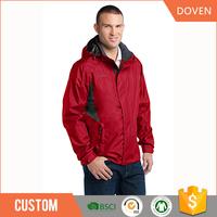 Custom polyester waterproof and windproof winter jacket