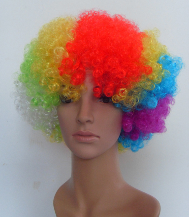 world cup fan wig
