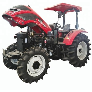 High Quality YTO Engine 73.5KW 100hp Farm Tractor Agricola 4wd