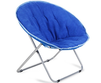 High quality adult folding camoping Moon chair