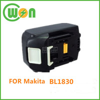 Brand new cordless drill rechargeable battery for makita battery bl1830 battery for replacement