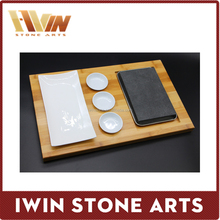 Stone Serving Plate Dinnerware Barbecue Set