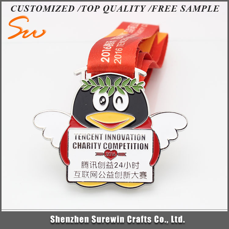 New Style Fashionabl Eco-friendly penguin Best Selling old medal