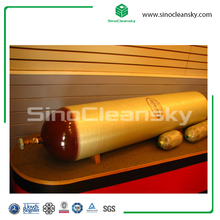 Type 2 CNG Gas Cylinder 100L 250bar with ISO11439 ECER110 NZS5454