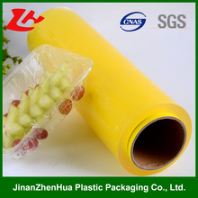 [hot sell] china non-toxic packaging pvc cling film for food wrap of zhenhua