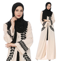 Wholesale 2018 New Printed Arab Robes Long Skirt Abaya Muslim Dresses