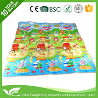 New design learning pad playmat waterproof indoor outdoor crawl picnic rug mat EPE pad with great price