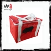 Hot selling nonwoven bottle cooler bag, non woven picnic cooler bag, thermal wine bag