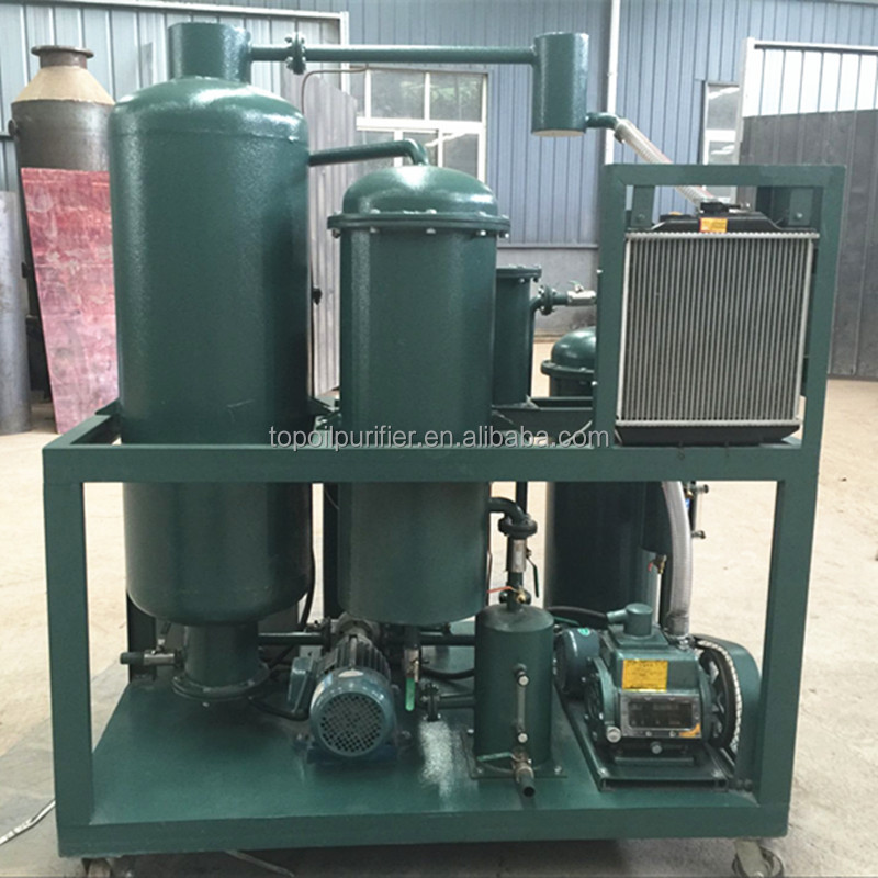 Hydraulic Oil Filter/ Oil Lubricant Recycle Machine/ Waste Lube Oil Refining Equipment