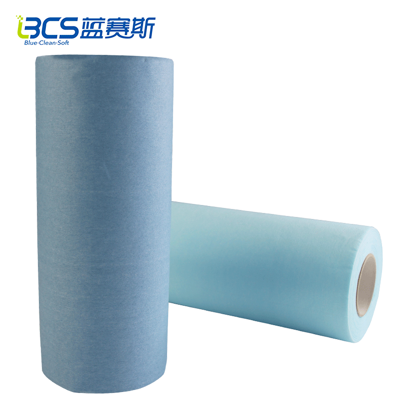 Lint Free Disposable nonwoven fabric cleaning wipes for industrial and household