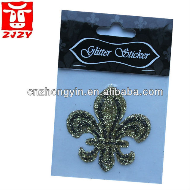 2013 Non-toxic self adhesive glitter body sticker with cheap price