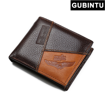 Vintage Genuine Leather Men Wallet Factory