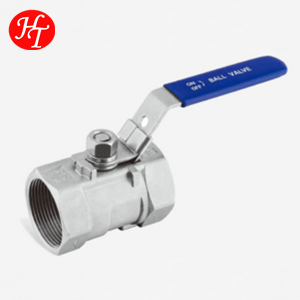 Alibaba Online Sale High Quality and Pressure 1pc Ball Valve for Water /Oil/Gas