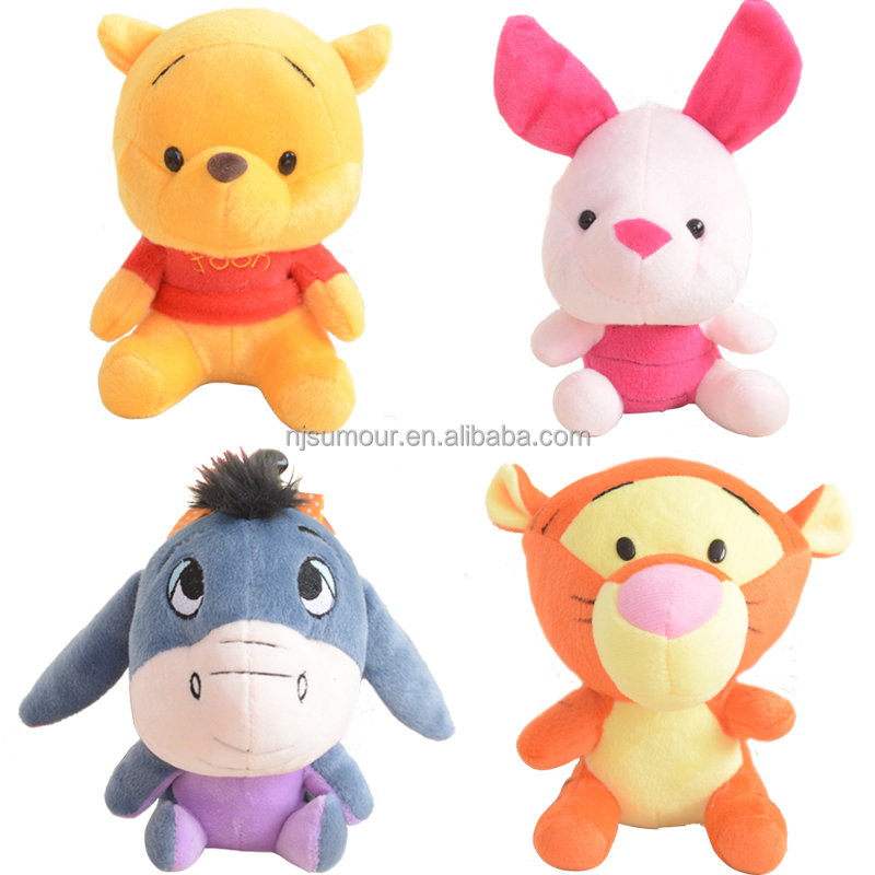 Disnay Winnie-the-Poh plush toy winnie's family Tigger-ish Eeyore-ish stuffed toy