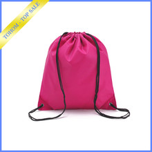 wholesale stock design your own plain drawstring backpack