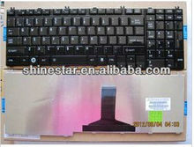 notebook RU layout Keyboard replacement for toshiba P200 P205 P300 G50 G501 L582 L350 A500 P205