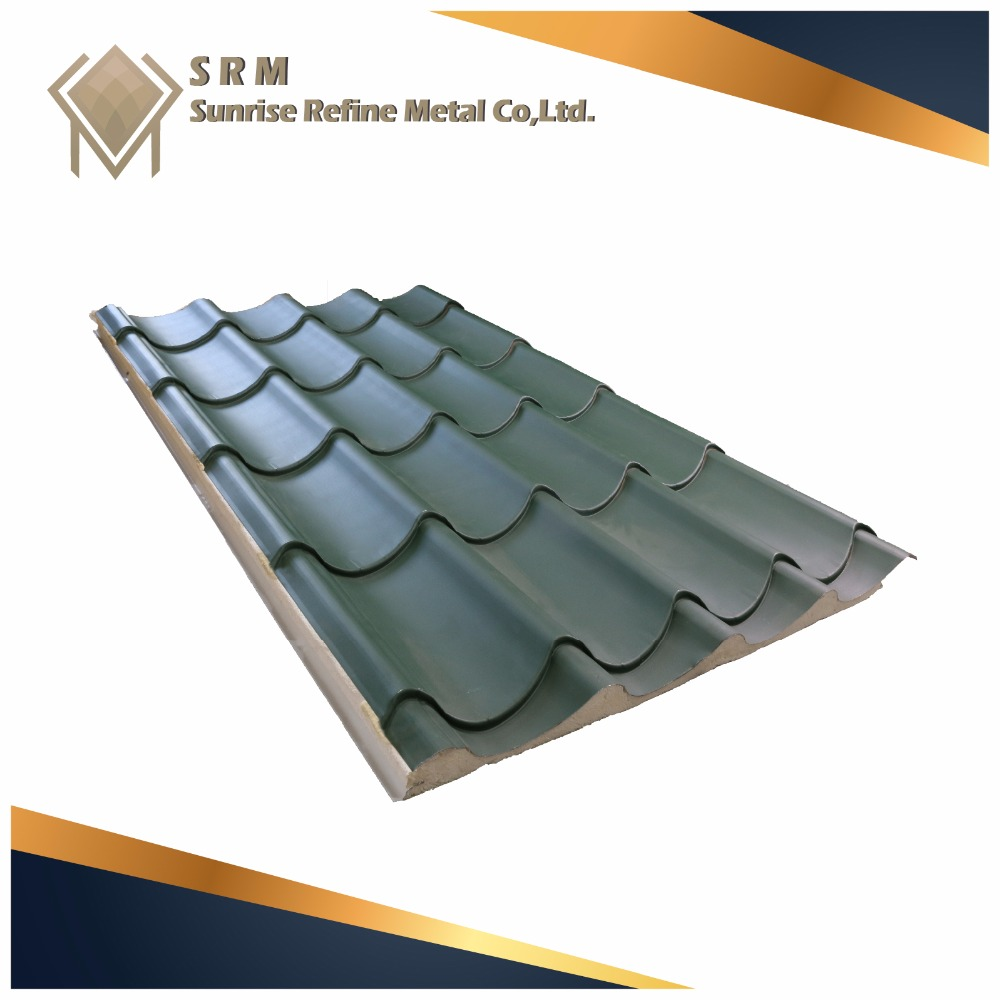 CMD-BR110 Corrugated steel metal roofing sheet corrugated pvc roof sandwich panel