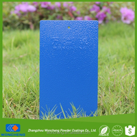 Blue Color Fine Texture Paint Coatings For Exterior Application