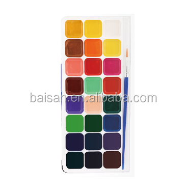 Water Colour cake water color paint national paint color neon paint colors