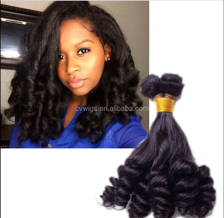 Fashion sytle bohemian curl human hair <strong>weave</strong> for black women