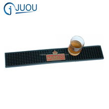 Soft PVC material and PVC bar mat custom logo bar mat