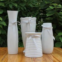 white ceramic vase with pattern danish design home goods decoration