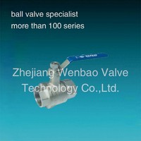 2pc Insulation 3 Inch stainless steel Ball Valve