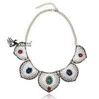Elegance Woman Fashion Necklace, Jewelry Set, Friendship Necklace Crystal Jewelry Wholesale
