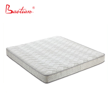 Jacquard bedroom rolling mattress with pocketed spring