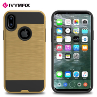 Arrival hybrid armor tpu cases for iphone 8,brushed tpu pc cover case for iphone 8 case