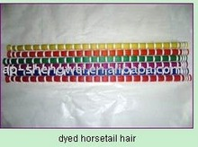 Flying Tiger dyed horse tail hair for sale