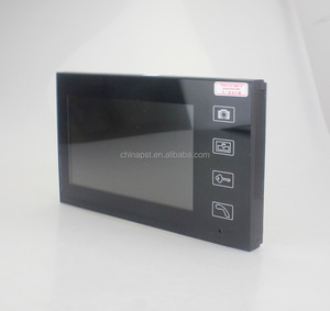 Smart home touch screen video door entry system full digital ip based video intercom PST-WVD07T