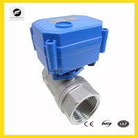 mini Stainless Steel solenoid 2 way ball valve CWX-15Q/N for water filter,HAVC,washing machines