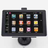 Free Maps New 7 Inch HD Touch Screen Car Auto tablet GPS Navigation 8GB/256MB FM Navigator gps canada