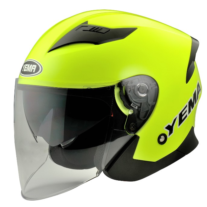 YM-630 scooter vega ECE design open face helmets with dual visors
