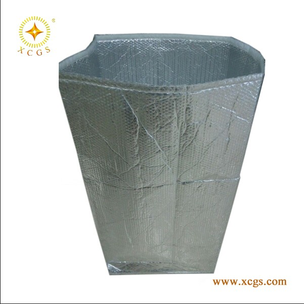 Isothermal Cooler Food Shipping Box Liner with Bubble Foil Material