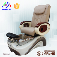 beauty salon equipment leather cover foot spa massage chair (KZM-S822-1)