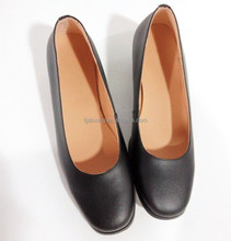 woman office safety police officer shoes